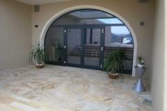 Alu-Eingangaselemente für Gewölberaum