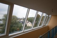 Alu Schrägverglasungen im Wohnbereich
