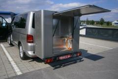 Fahrzeug-Transportbox-Sonderlösungen