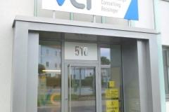 Geschäftseingang VCR