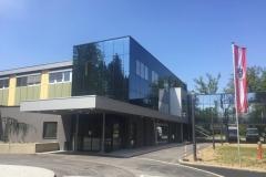 Glasfassade Bürozubau ams Premstätten