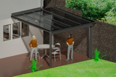 3D Planung z.B. Vordach