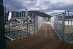 Hotel Danniel Terrasenkonstruktion und Geländer Stahl verz