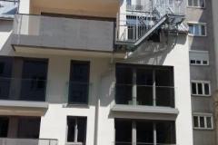 Stahl Geländer + Treppen Mehrparteienhäuser Wien